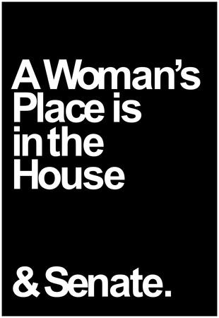 A Womans Place Prints
