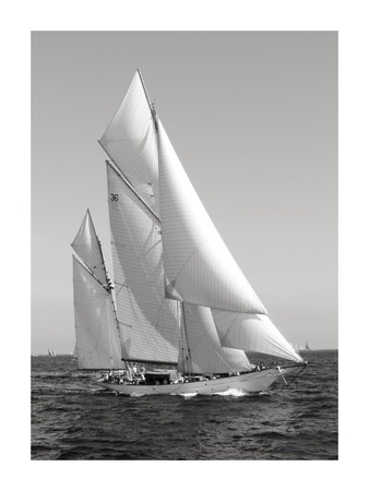 Classic sailboat Prints by  Anonymous