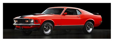 Ford Mustang Mach 1 Posters by  Gasoline Images