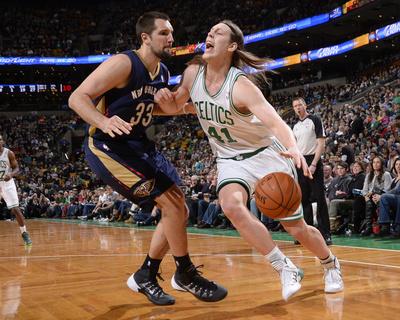 New Orleans Pelicans v Boston Celtics Photo by Brian Babineau