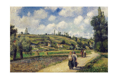 Landscape, 1881 Giclee Print by Camille Pissarro