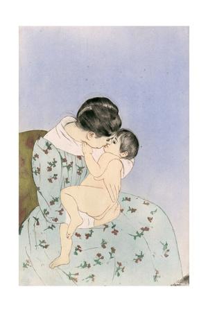 Mother, 1891 Giclee Print by Mary Cassatt
