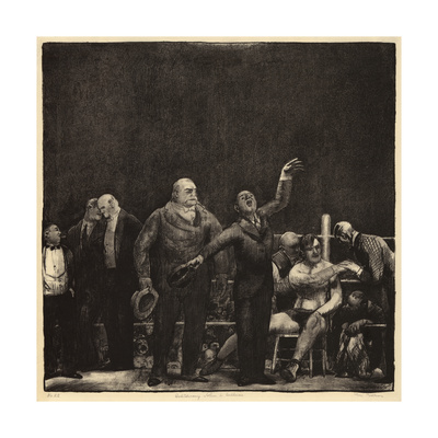 John Sullivan Giclee Print by George Bellows