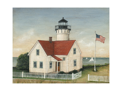 Lighthouse Keepers Home Prints by David Carter Brown