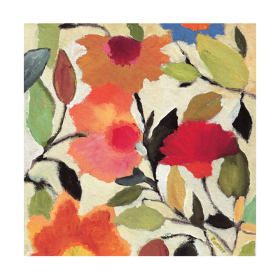 Begonias Giclee Print by Kim Parker