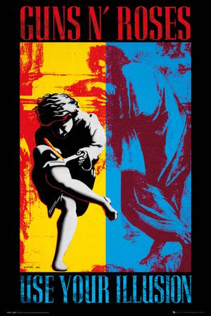 Guns & Roses- Illusion Album Cover Prints
