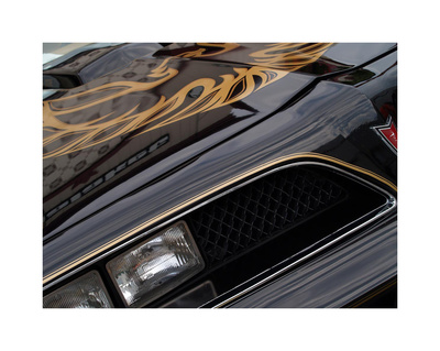 1978 Pontiac Trans Am Giclee Print by Clive Branson