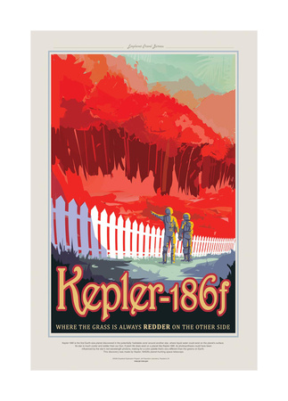 Kepler Gicléedruk van JPL