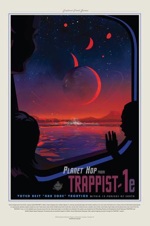 NASA/JPL: Visions Of The Future - Trappist ポスター