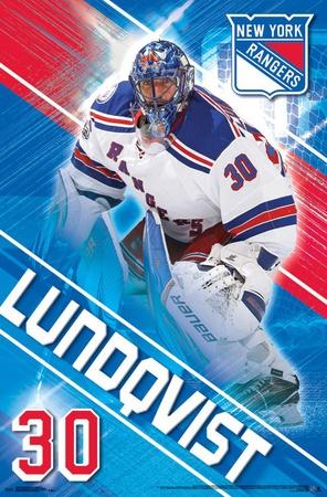 New York Rangers- H Lundqvist 17 Photo