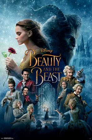 Beauty & The Beast- One Sheet Prints