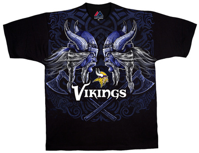 NFL: Minnesota Vikings- Face Off Tshirt