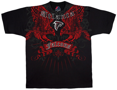 NFL: Atlanta Falcons- Face Off T-shirts