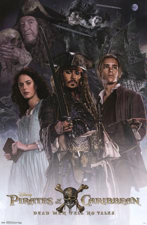 Pirates Of The Caribbean 5- Crew Prints