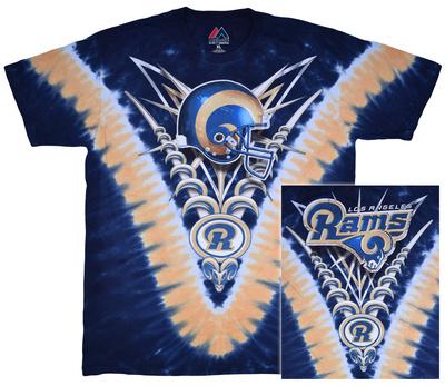 NFL: La Rams- V-Dye (Front/Back) T-shirts