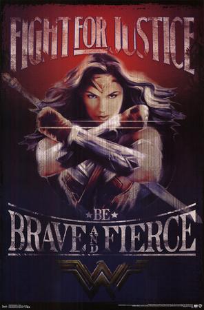 Wonder Woman- Justice Print