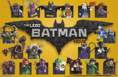 Lego Batman- Grid Posters