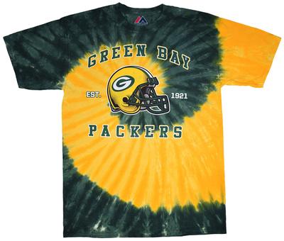NFL: Green Bay Packers- Tight Spiral Shirt