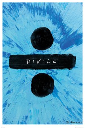 Ed Sheeran- Divide Album Logo Posters