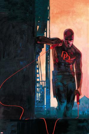 Daredevil 11 Variant Cover Art Featuring Daredevil Prints by Alex Maleev