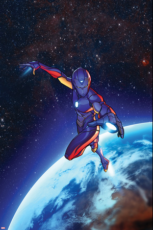 Invincible Iron Man 2, Space, Planet Cover Art Posters