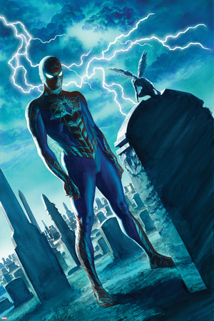 The Amazing Spider-Man 19 Panel Posters by Alex Ross