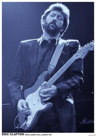 Eric Clapton- Royal Albert Hall, London 1987 Posters
