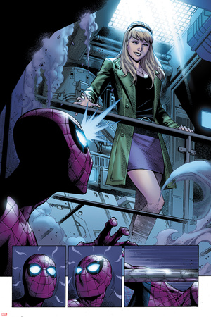 The Clone Conspiracy 1 Panel Featuring Gwen Stacy, Spider-Man Posters by Jim Cheung