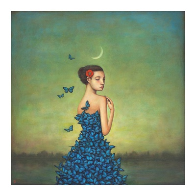 Metamorphosis in Blue Prints by Duy Huynh