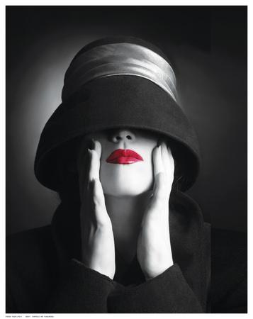 Ruby Lips III Posters