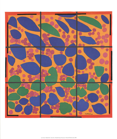 Ivy in Flower Posters by Henri Matisse
