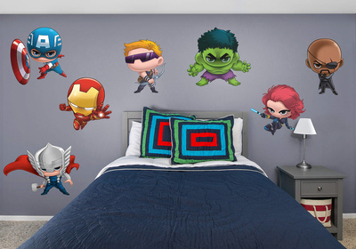 Marvel Avengers Team Up RealBig Collection Wall Decal