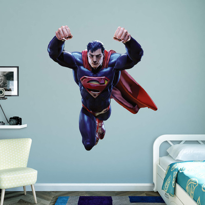 DC Infinite Crisis Superman RealBig Wall Decal
