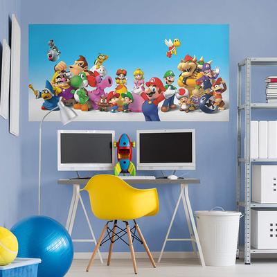 Nintendo Super Mario RealBig Mural Wall Mural