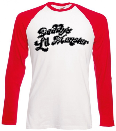 Long Sleeve: Suicide Squad- Daddy's Little Monster Longsleeves