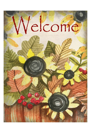 Welcome Fall Poster