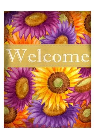 Welcome Sunflower Prints