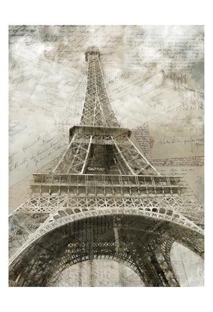Postcards to Paris Prints