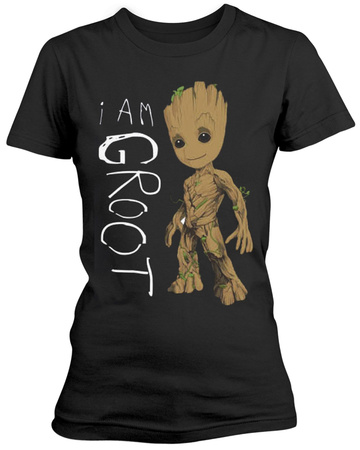 Guardians Of The Galaxy- I Am Junior Groot Scribbles Tshirt