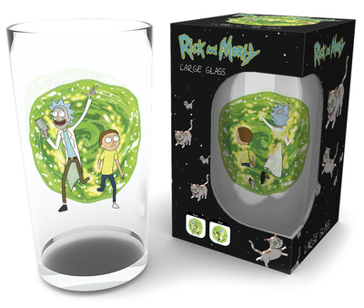 Rick and Morty - Portal 500 ml Glass Novelty