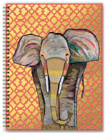 Majestic Elephant 17-Month - 2018 Hardcover Planner Calendari