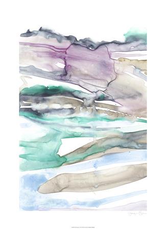 Geode Layers I Limited Edition by Jennifer Goldberger