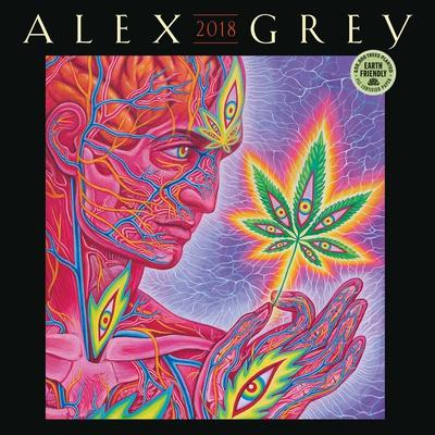 Alex Grey - 2018 Calendar Calendari