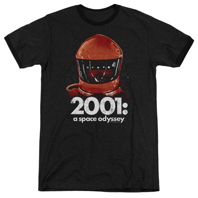 2001 A Space Odyssey/Red Space Helmet Ringer Shirts
