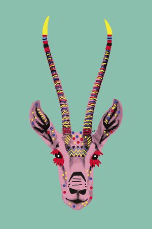 Savane Antelope Prints by Emilie Ramon