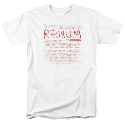 The Shining/Redrum Scrawl T-shirts