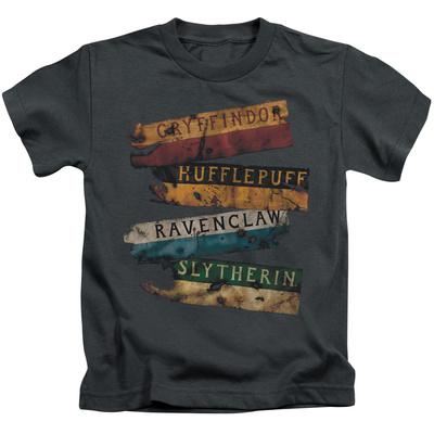 Juvenile: Harry Potter- Burnt Banners T-shirts