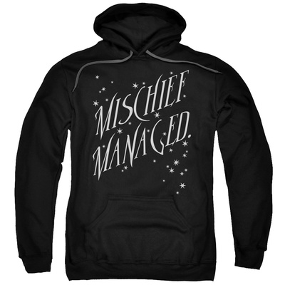 Hoodie: Harry Potter- Mischief Managed Sparkle Pullover Hoodie