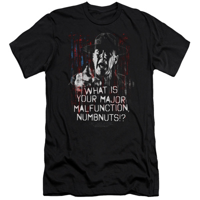Full Metal Jacket/What Is You Malfunction Numbnuts Slim Fit T-Shirt