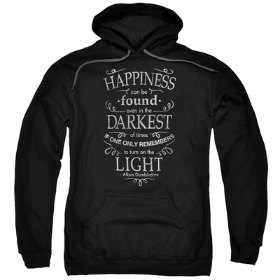 Hoodie: Harry Potter- Happiness Can Be Found In Darkness Pullover Hoodie